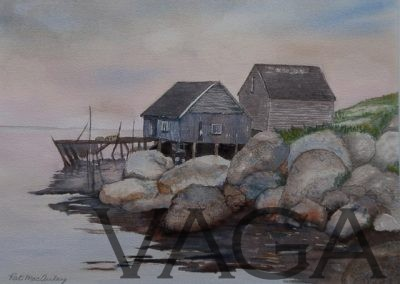 Pat MacAulay - Fishing Shacks
